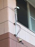 VPNではなくビル間無線アンテナを利用して、電話環境やLAN環境を共有